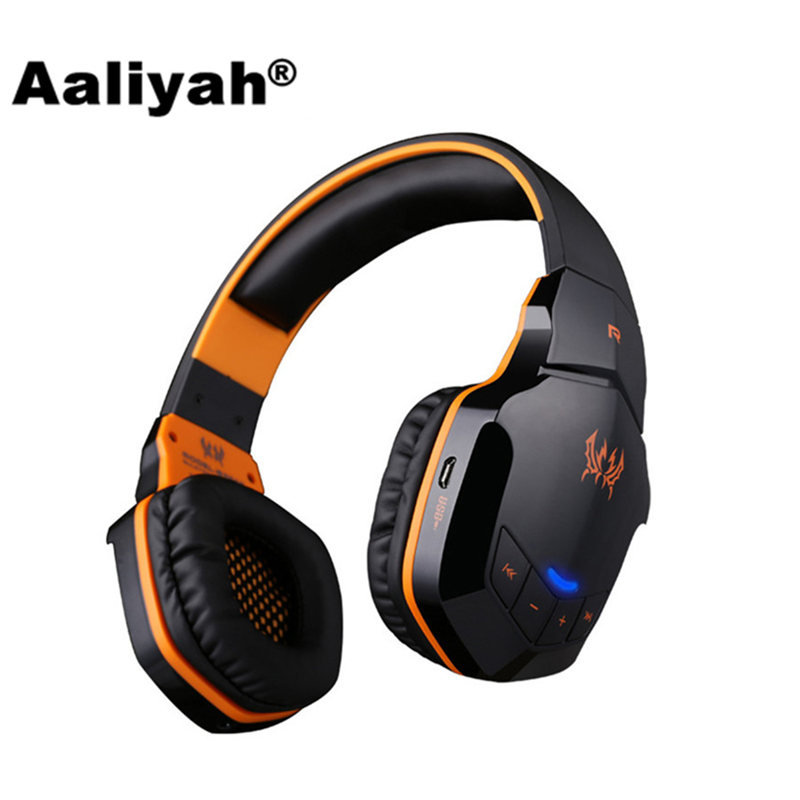 Aaliyah Wireless Bluetooth Stereo Gaming Headset Headphones EACH B3505 With Microphone Volume Control HiFi Headsets for Computer gaming headphones wireless headset cuffie tbe82n waterproof