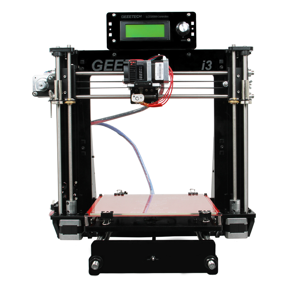 Reprap 3D Printer Acrylic Frame Prusa I3 unassembled DIY kit GT2560 MK8 extruder