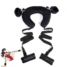 Sponge Pillow Ankle Cuffs Handcuffs Fetish Kinky Harness Positioning Bondage Collar Kit Sextoy Femme Bdsm Game Adult Sex Toys