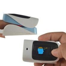 Оксиметра импа Ульс напальчника с инфракрасный термометр для измерения температуры spo2 oximetro монитор сердца цифровой Дисплей палец Бесконтактный пульсометр