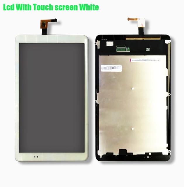 لهواوي Mediapad T1 10 Pro LTE T1-A21L T1-A21W T1-A22L T1-A23L شاشة الكريستال السائل + مجموعة المحولات الرقمية لشاشة تعمل بلمس الزجاج الاستشعار