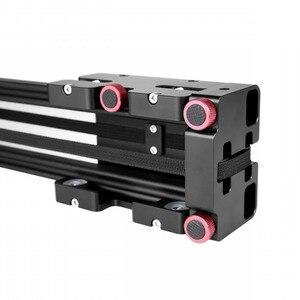 Image 3 - Nieuwe Professionele 40 Cm Schieten Video Track Slider Dolly Stabilizer Systeem Voor Canon Nikon Sony Pentax Dslr Camera Dv Camcorder