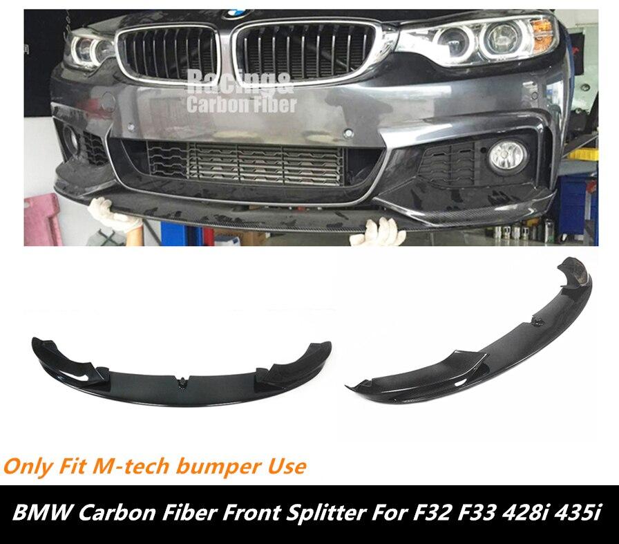 2014 M Performance Style Carbon Fiber Front Spoiler