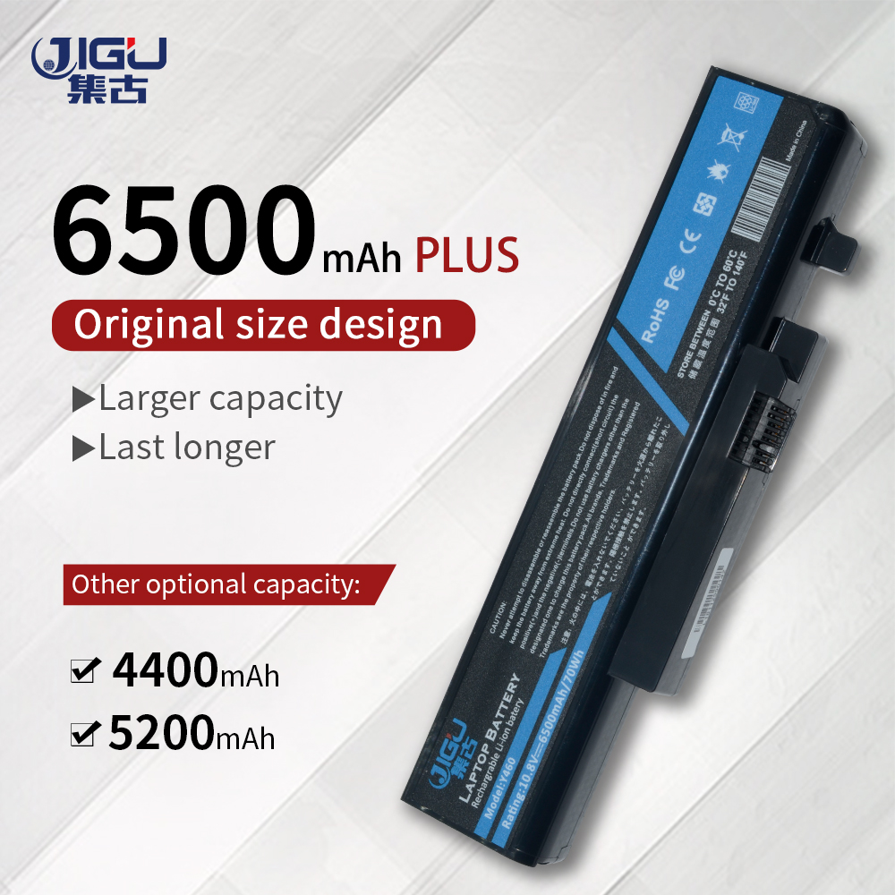 JIGU batería para portátil batería ordenador portátil reemplazo para LENOVO L09N6D16 L09S6D16 L10L6Y01 L10L6Y01 L10N6Y01 L10S6Y01 IdeaPad Y460 Y560 B560 Y560A