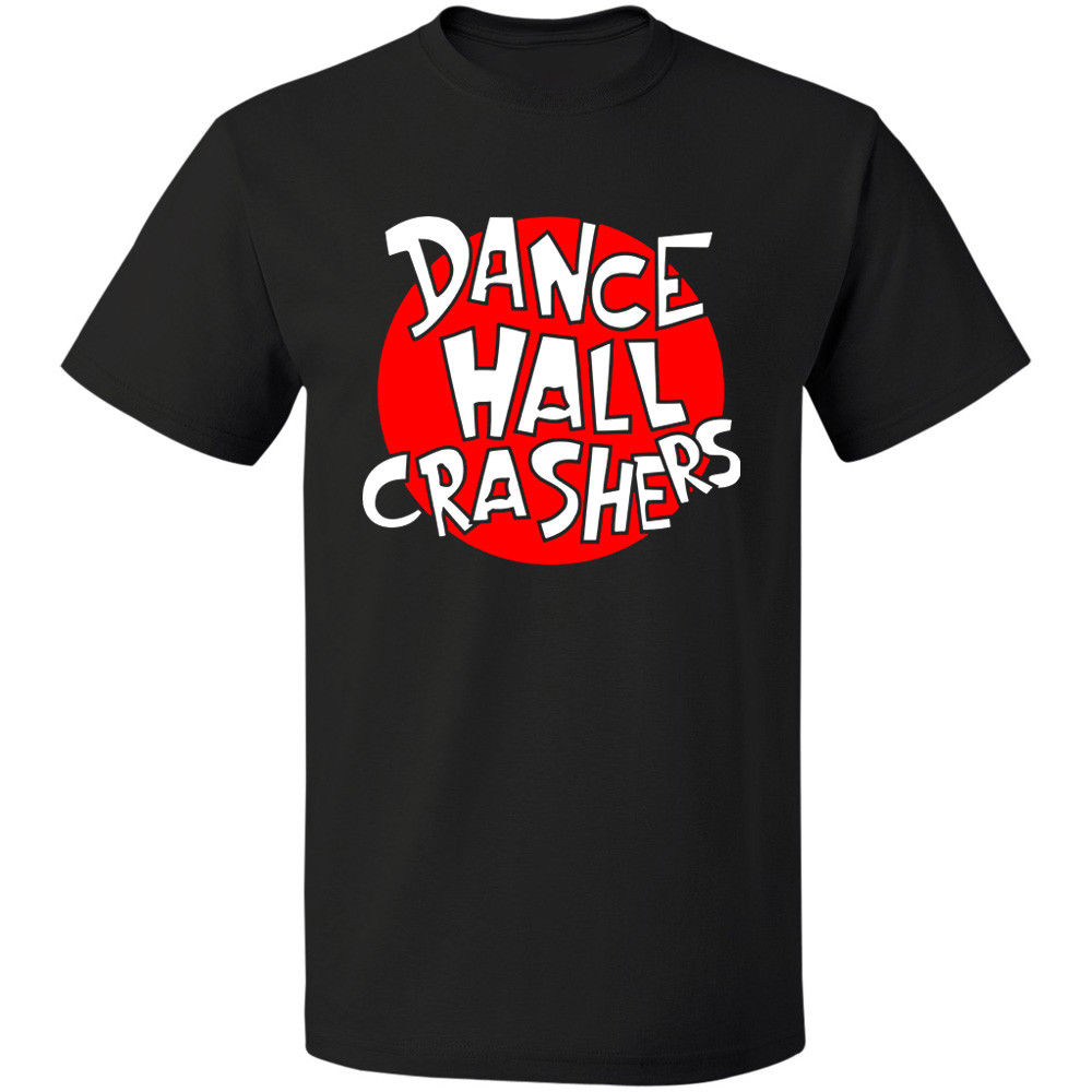 DANCE HALL CRASHERS Logo Ska Punk Pop Free Shipping T-Shirt Size S-3XL Male Designing T Shirt Top Tee
