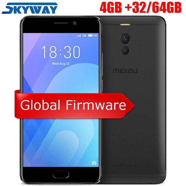 "Original Meizu M6 Note 4GB 32GB/64GB 4G LTE Cell Phone Snapdragon 625 Octa Core 5.5"" 1920X1080P 4000mAH Battery Fast Charging"