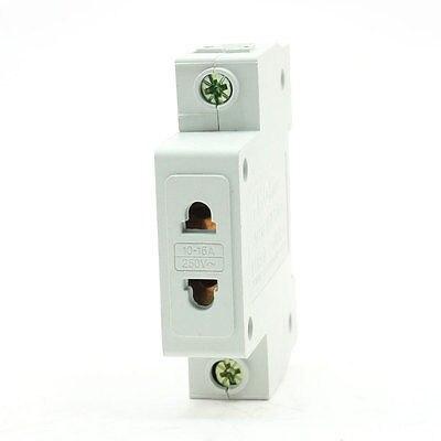 Industry US EU 2 Pin Plug 1 Pole Modular Socket 10-16A 250VAC [vk] 553602 1 50 pin champ latch plug screw connectors
