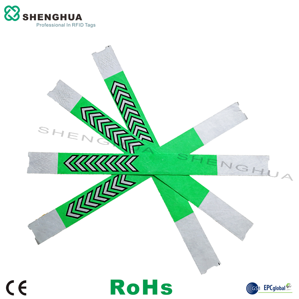 200pcs RFID Wristband Bracelet Alien Waterproof RFID Paper Wristbands For House Parties Activities