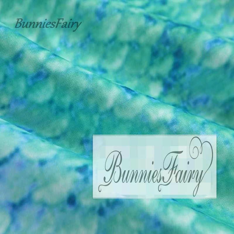 BunniesFairy 2019 wiosna lato nowe panie jasnozielony Sexy syrenka kwiatowy Print wysokiej talii spódnica ołówkowa wąska obcisła elastyczna