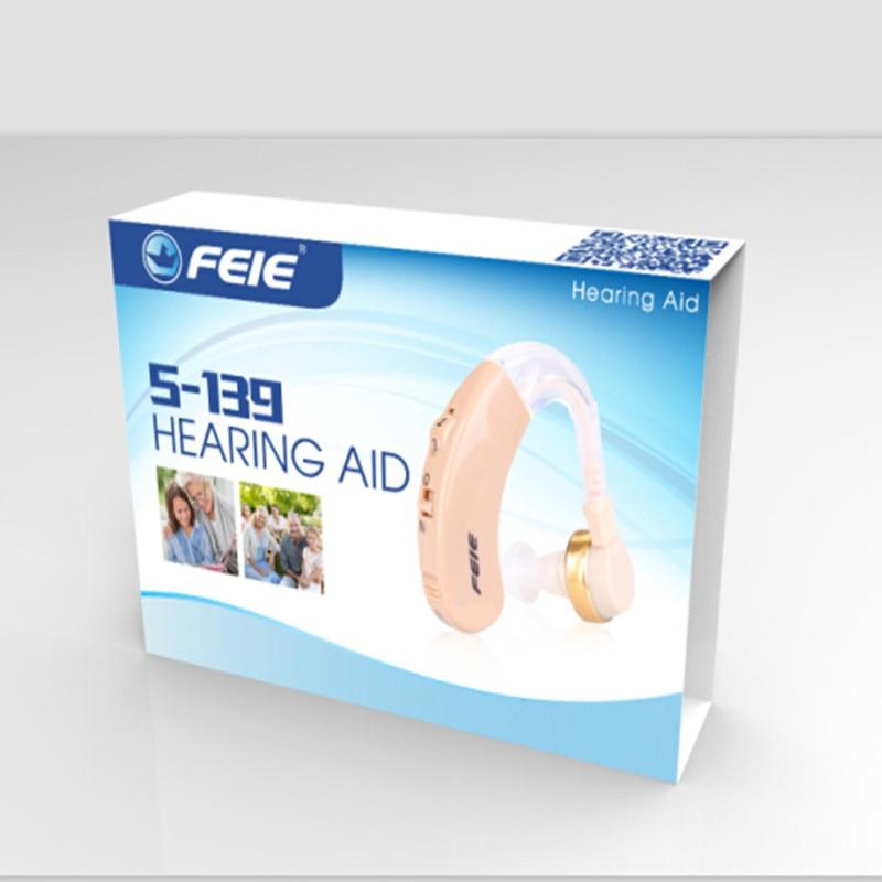 S-139 Trådløs Hearing AIDS Bag Øren Høreapparat Kit BTE Lyd - Sundhedspleje - Foto 5
