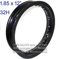 Pit bike Rims Hub Ring 1.85x12inch aluminum for dirt bike 32H Wheels Circle pit bike KTM CRF Kayo BSE Apollo spare parts