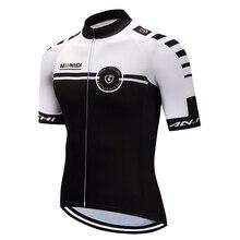 Мужские летние велосипедные Джерси черные спички белый велотренажер спортивные с коротким рукавом для верховой езды трикотажные изделия Индивидуальные/ обслуживание