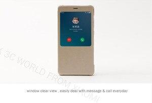 Image 2 - 100% Original xiaomi REDMI NOTE 4 flip case Chinese MTK Helio x 20 / Global Version Snapdragon Cover ( 5.5 inch )