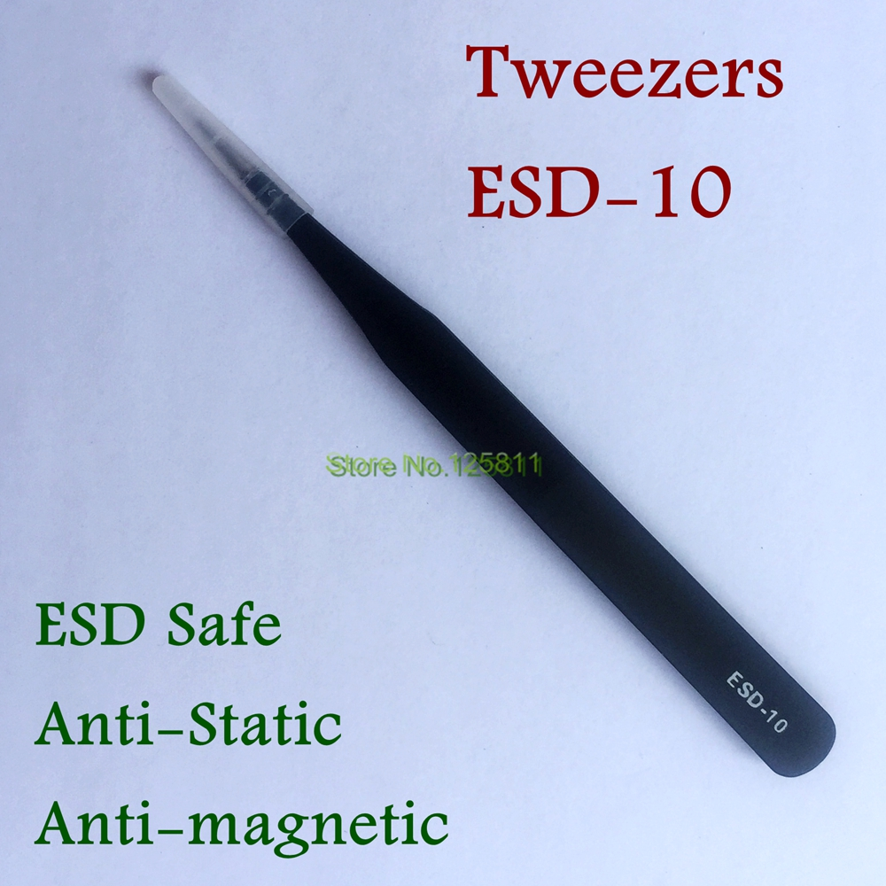Ambitious 300pcs Esd-10/esd-15 Anti-static Forceps Accurate Tweezers Set Straight Curved Electronic Craft Jewellery Industrial Tweezers Back To Search Resultstools