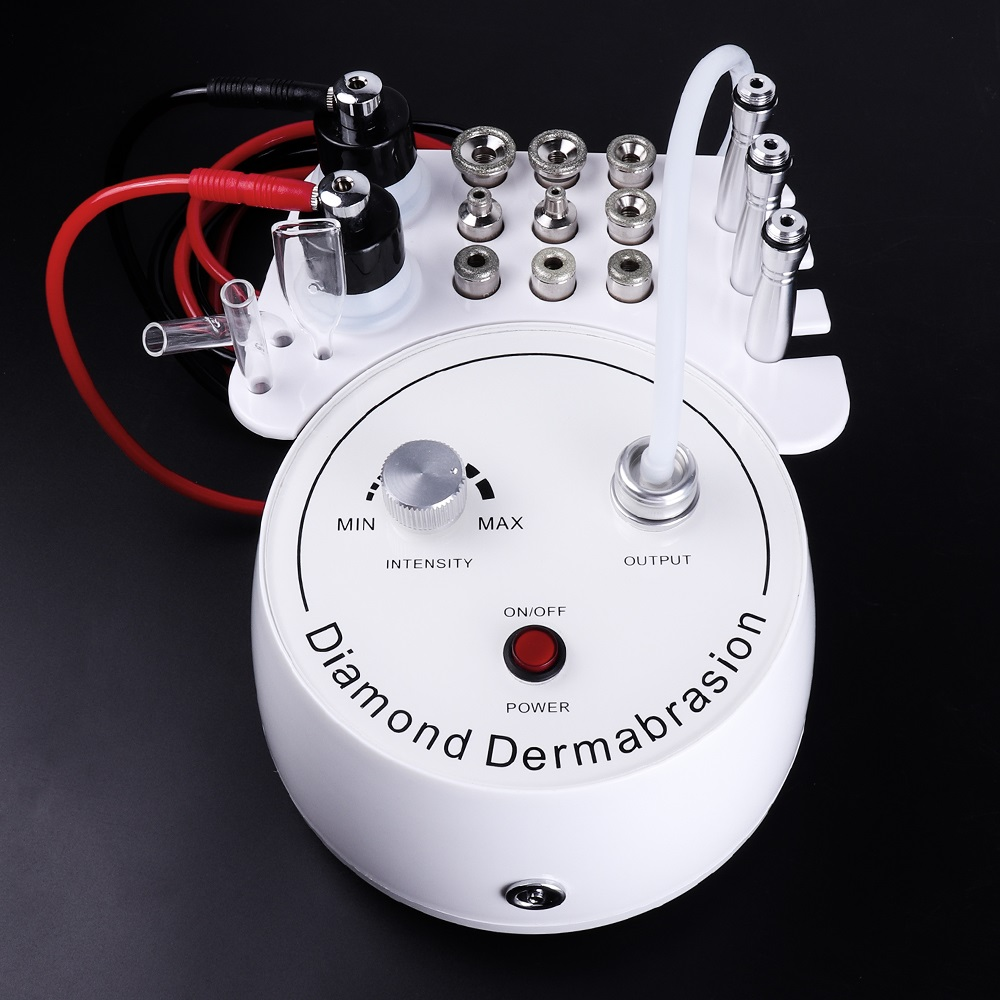 3 In1 Diamond Microdermabrasion Dermabrasion Machine Water Spray Exfoliation Beauty Machine Removal Wrinkle Facial Peeling SPA