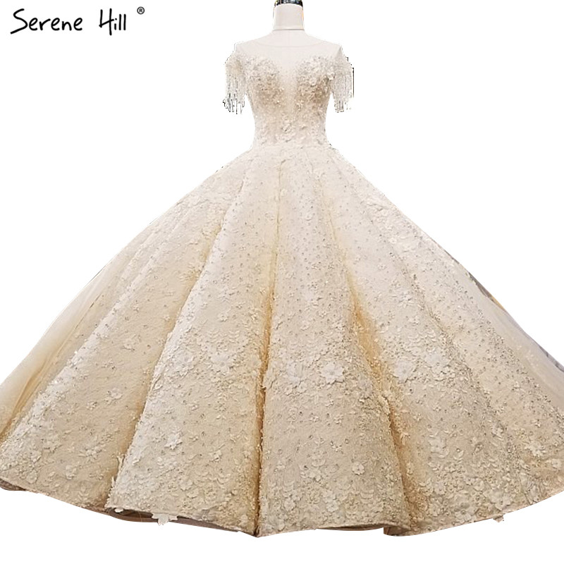 Extreme Luxury Sleeveless Sexy Vintage Wedding Dresses 2020