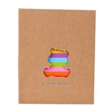 6 дюймов 100 страниц Карманный Тип фотоальбом рамка для хранения фотографий студенческий альбом для скрапбукинга свадебный альбом памяти