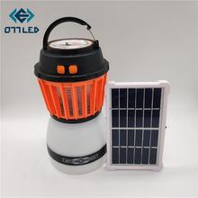 Светодиодный светильник для защиты от комаров на солнечной батарее