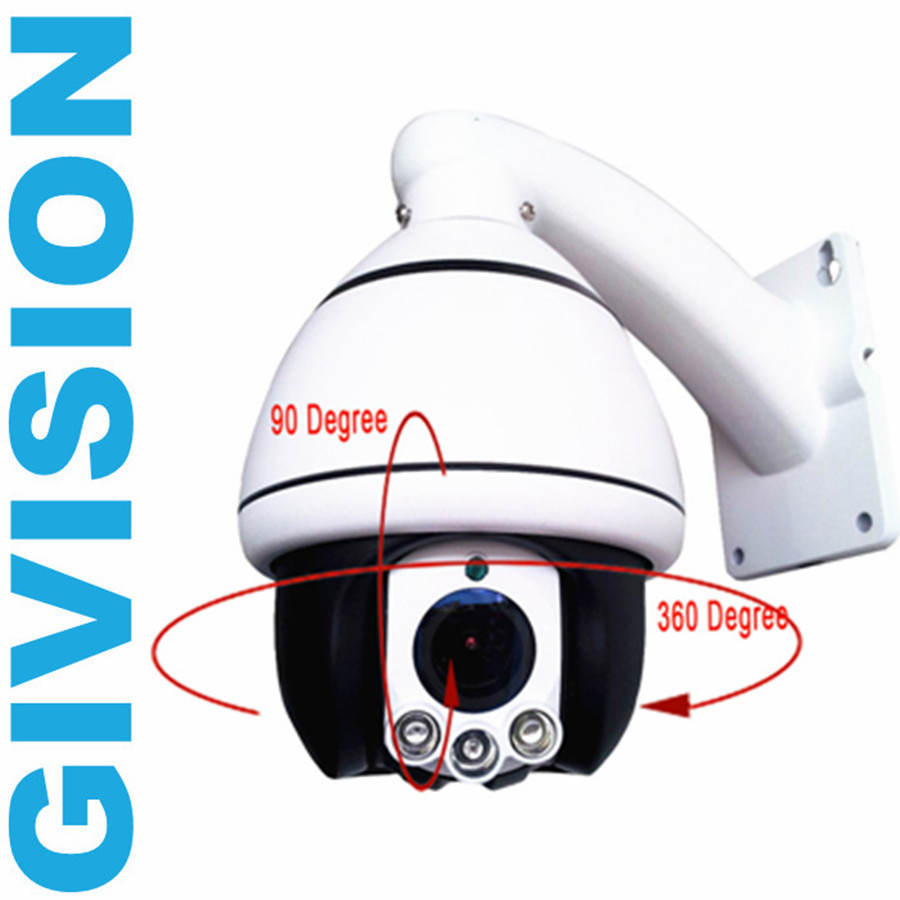 CCTV video Security ahd camera 960p mini ptz speed dome pan tilt 10x zoom array ir night vision surveillance camera system