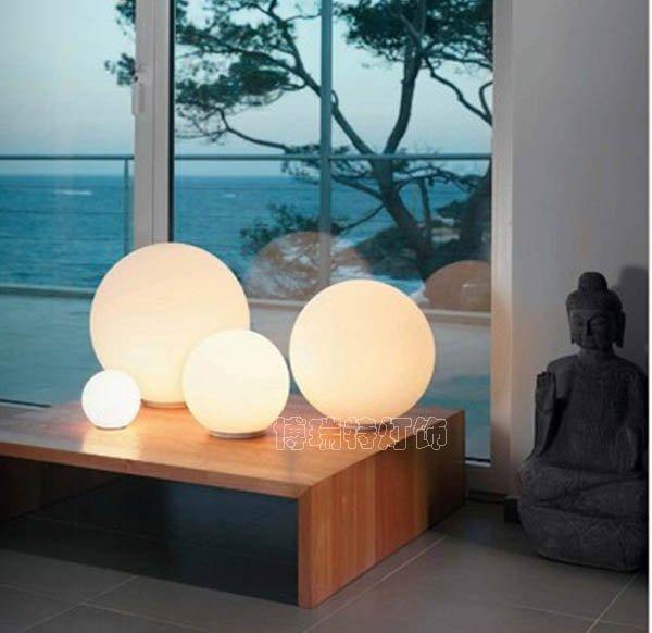 modern table lighting with plug opal glass Desk lamp for livingroom ...