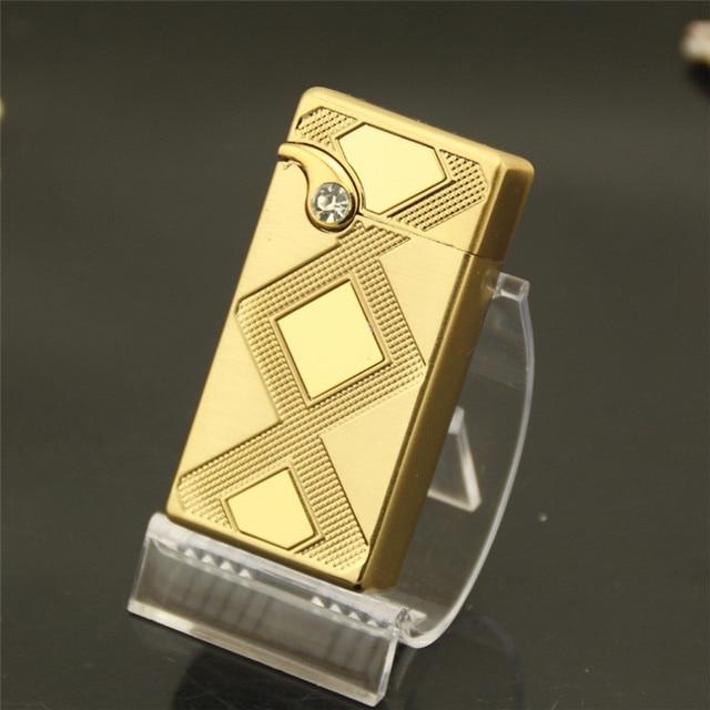 cda8af6857af mesh metal windproof lighters