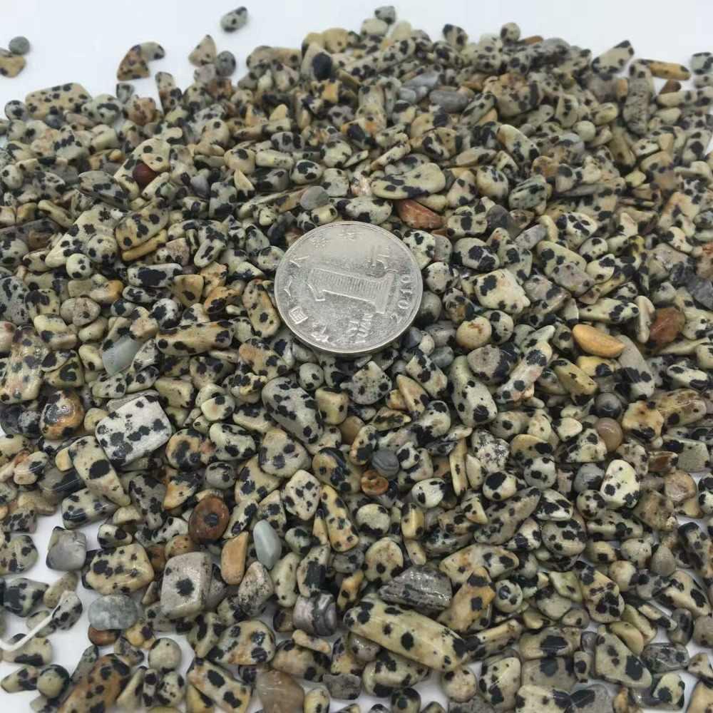 6-9mm naturalne plamy Leopard ziarna kryształ polerowane kamienie Rock gatunek minerału sadzenia ryby akwariowe ozdoba do akwarium kamień rzemiosło