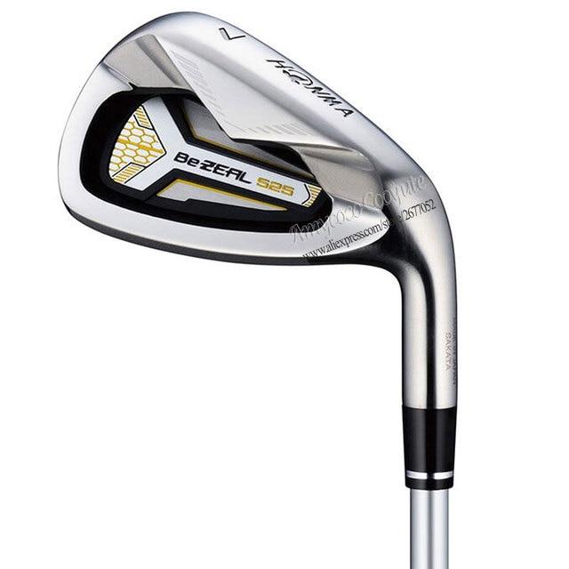 Cooyute New Golf Clubs HONMA BEZEAL 525 Golf Irons 5 11 Sw BEZEAL 525 Clubs Irons Golf Graphite shaft R or S Flex Free shipping