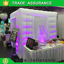 free shipping high quality lighting inflatable cabin tent diy photo booth