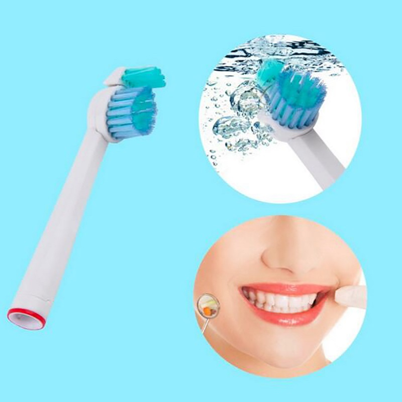 4pcs Electric Replacement Toothbrush Heads for Philips Sonicare ProResults HX1620/HX1630/HX1610 1007 DiamondClean HydroClean image