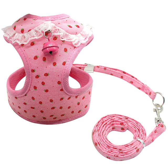 Soft Mesh Pet Chihuahua Harness