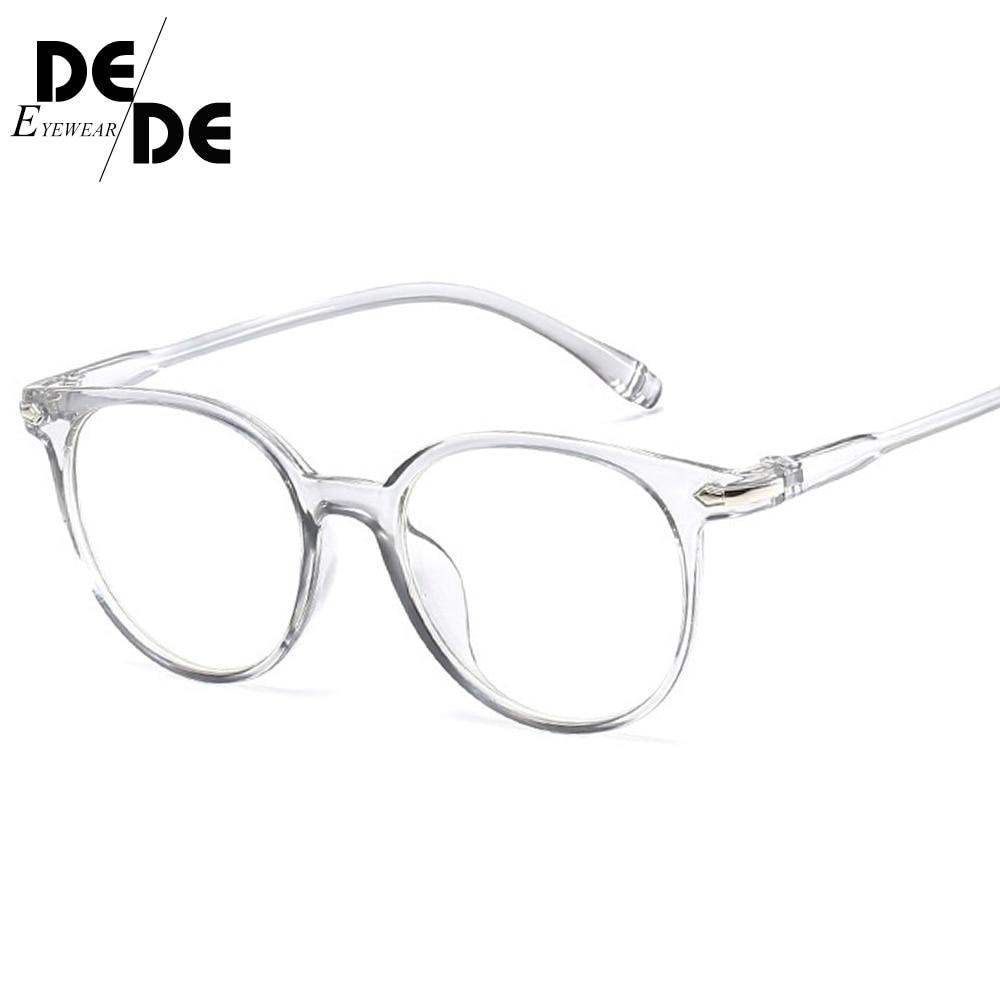 Fashion Women Glasses Frame Men Eyeglasses Vintage Round Clear Lens Optical Spectacle