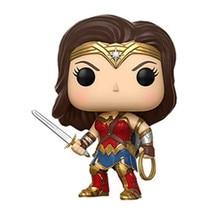 Anime Figure Superheroes Wonder Woman the flash batman Green Lantern Aquaman PVC Figure Collectible Model Toy 10cm