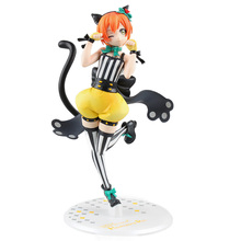 цены Anime ALTER Love Live! School Idol Festival Rin Hoshizora Ver. Sexy PVC Action Figure Collectible Model Toys 20cm