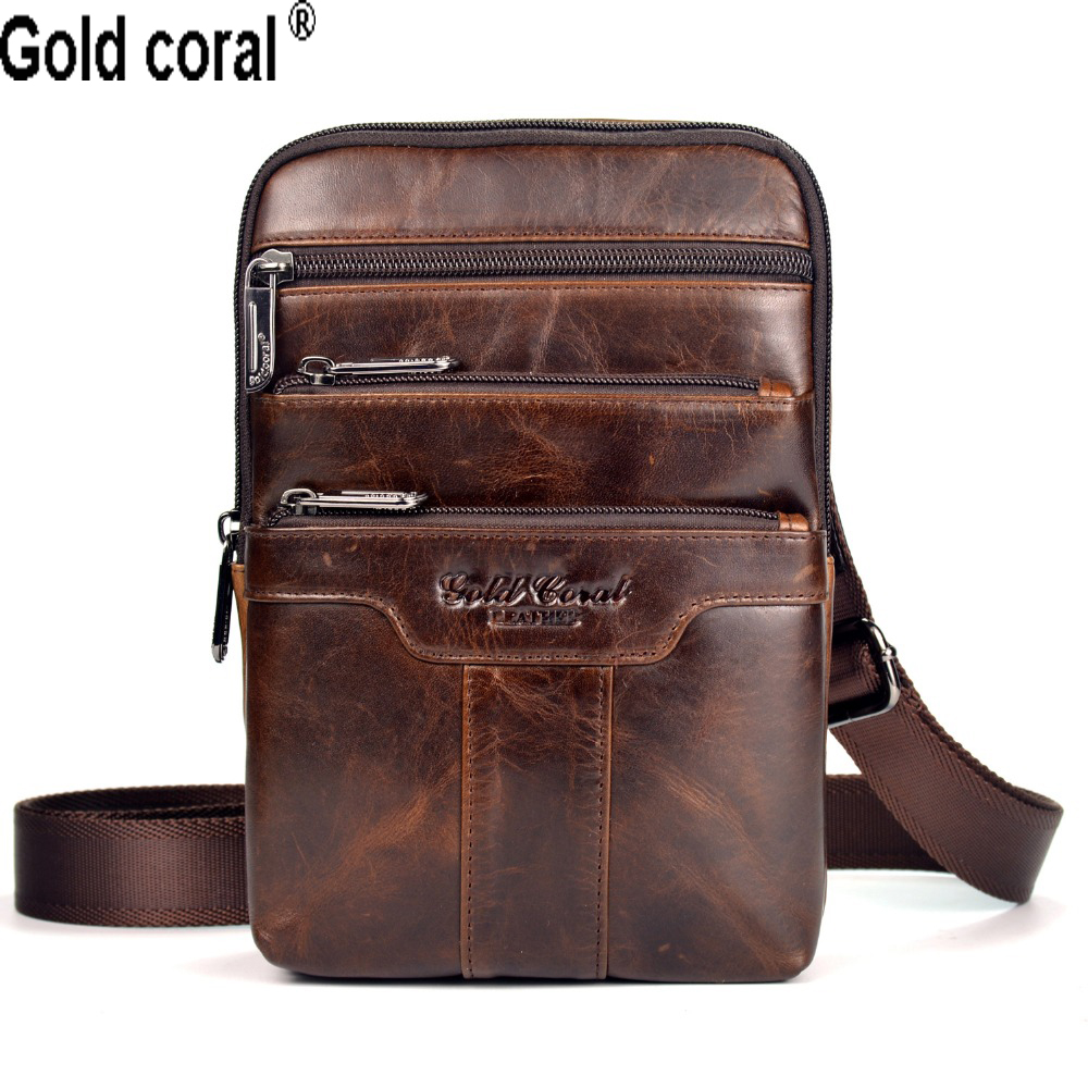 MEIGARDASS Genuine Leather Men Messenger Bags Casual Business Small Crossbody Shoulder Bags for men male Travel bags