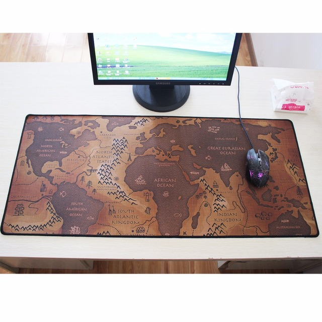 Pbpad fashion old world map mouse pad 2017 new large pad to mouse review pbpad large mouse pad 730330mm speed keyboard mat mousepad gaming mouse pad desk mat for game player desktop pc computer laptop gumiabroncs Choice Image