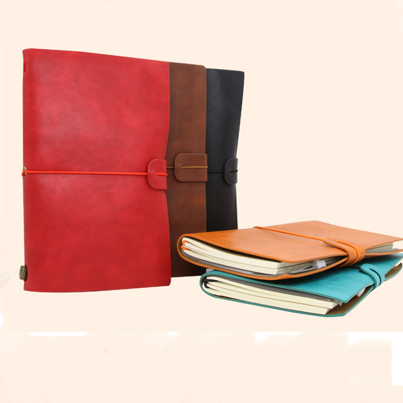 MEIKENG New Arrival 2017 1PCS High Quality Vintage Notebook Notepad Sketch Painting Notepad Office School Student Supplies meikeng 1pc 75 sheets vintage loose leaf notebook memo pad notepad school supplies office supplies high end gift