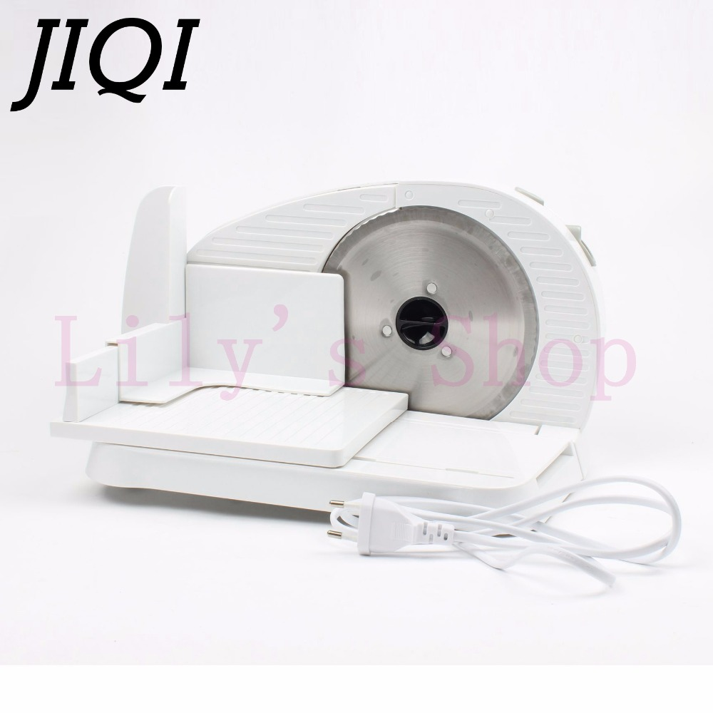 JIQI Automatic Mini Electric Meat Slicer Frozen Mutton Roll