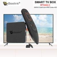 Beelink GT1mini 2 Smart TV Box Amlogic S905X3 Android 9.0 4GB DDR4 64GB 5G WiFi 1000M 4K Set Top Box mit Stimme Fernbedienung -