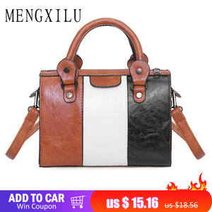 1ea6cdc9dbf1 MENGXILU Women Handbags Ladies Messenger Shoulder Bag