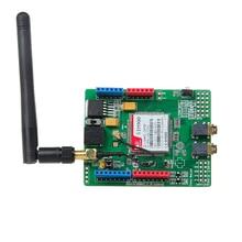New Arrival SIM900 Shield Development Board SIM900 of SIMCOM Quad-band GPRS Board + Antenna For Arduino
