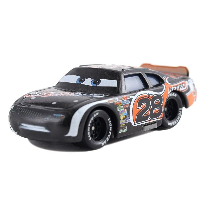 Disney Pixar машина 3 автомобиль 2 Маккуин автомобиль Игрушка 1:55 литой металлический сплав модель Игрушечная машина 2 детские игрушки День рождения Рождественский подарок - Цвет: 36