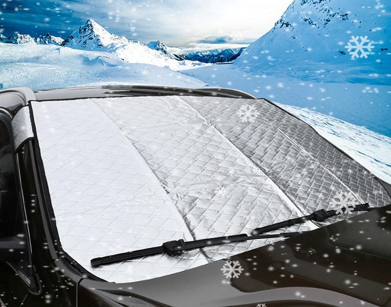 1 pc pour geely NL-3 (boyue) 2016-2018 neige gear verre antigel glaçage couverture de neige