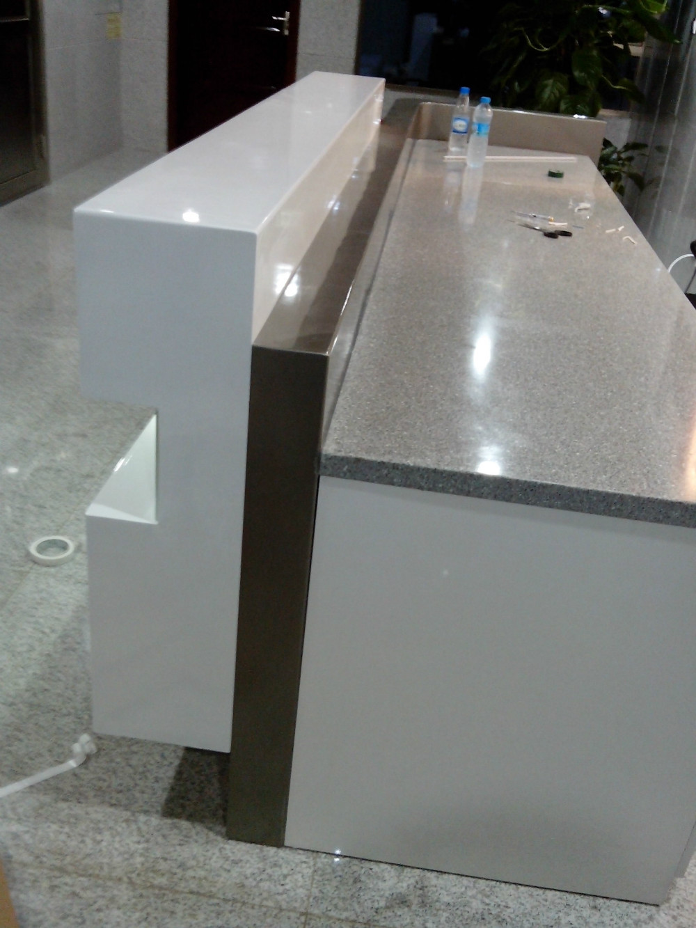 Hotel Curved Marble Reception Desk Counterqt3000 Table Top Is Panel Cabinets Qt3000 Marble Reception Desk Reception Deskcurved Reception Desk Aliexpress