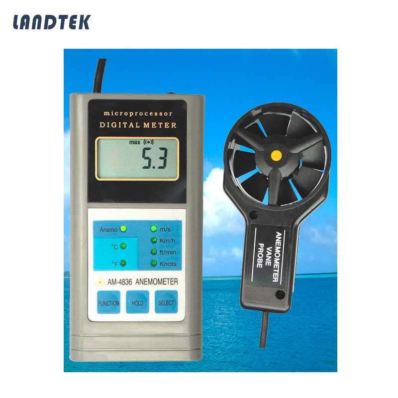 Handheld Wind Speed Anemometer AM-4836 eurosvet 4836 11