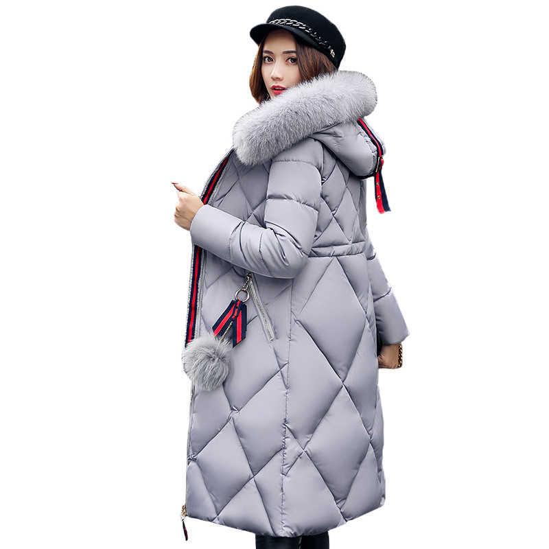 1fefec4f7a2 Detail Feedback Questions about Women Winter Coat Jacket Warm Parkas ...