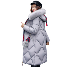 2018 Hot Sale Winter Women's Warm Coats Down Thicken Faux Fur Hoodies Jacket And Coat For Women Quality Parka Plus Size(M-3XL)