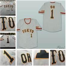 SexeMara Sadaharu Oh Tokyo Giants Baseball Jersey Sewn custom any number  name shirts(China) 8c4aff7f9