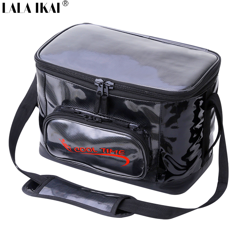 large capacity cooler bag pu 30l wine beer ice bag insulated food thermal bag insulated picnic