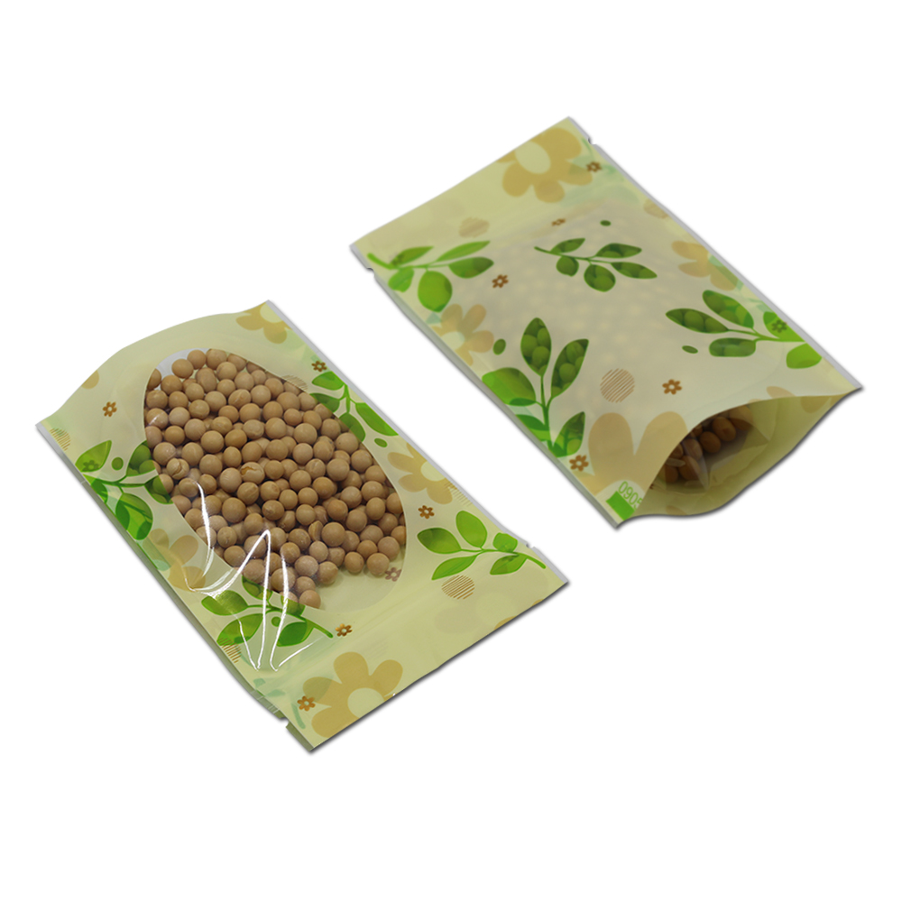 10 * 15cm 50Pcs / Lot Clear Plastična zelena listeljka Stand Up - Organizacija i skladištenje u kući - Foto 3