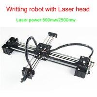 LY drawbot machine pen drawing robot machine lettering writting machine support laser head 500mw/2500mw